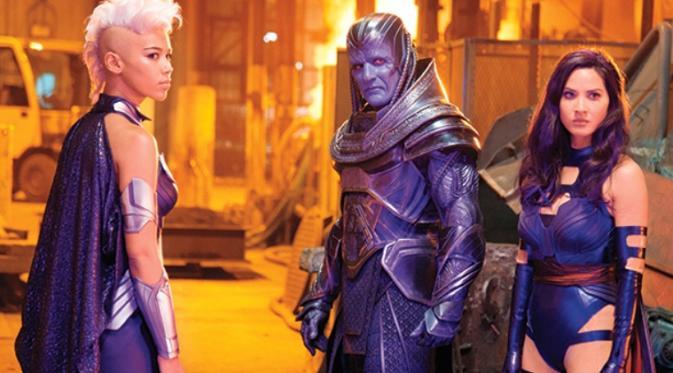 Paha Mulus Olivia Munn Lebam-lebam Akibat X-Men: Apocalypse