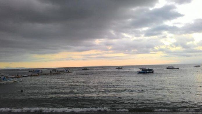 Sunset di Pantai Senggigi, Beautiful