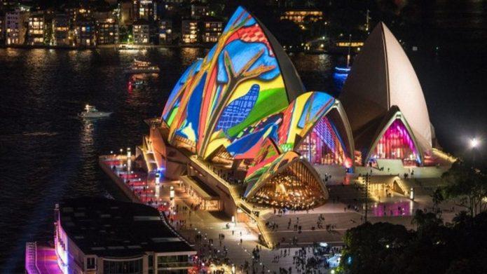 Keren! Festival Lighting di Sydney