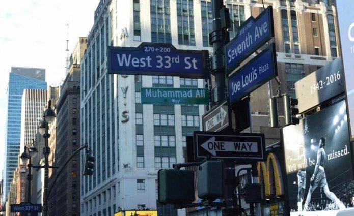 Muhammad Ali Diabadikan Jadi Nama Jalan di New York