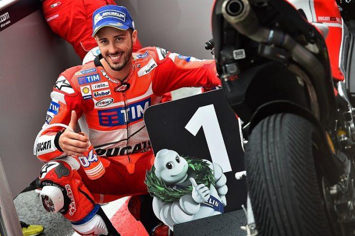 Resep Andrea Dovizioso Pecundangi Valentino Rossi di Kualifikasi MotoGP Belanda