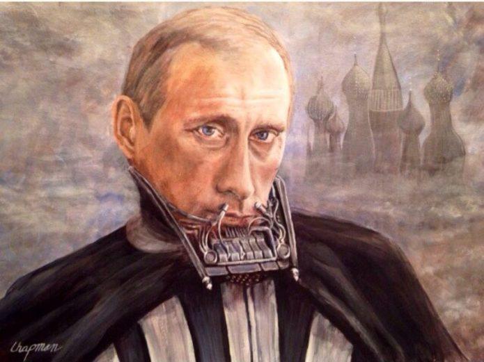 Akun Twitter Diblokir karena Samakan Putin dengan Darth Vader