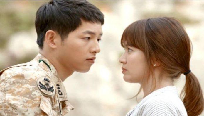 Ciuman Song Joong Ki dan Song Hye Jadi Favorit