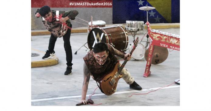 V1MAST Wakili Indonesia di Dukatfest 2016