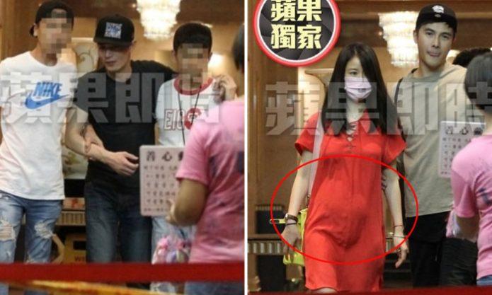 Beredar Foto Ruby Lin dengan Perut Buncit dan Wallace Huo Mabuk