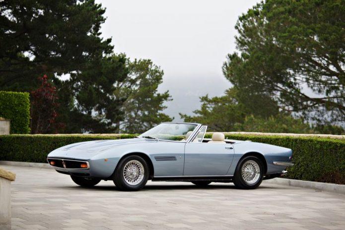 Deretan Mobil Klasik Maserati Dilelang, Harga Mulai Rp22 M