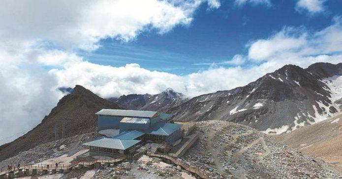 Kafe Tertinggi di Dunia Ini Terletak di Ketinggian 4.860 Meter