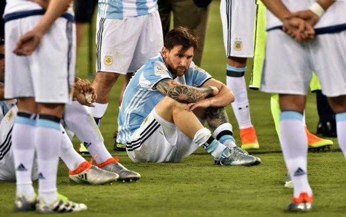 Kegagalan Argentina di Tiga Final Bukan Salah Messi