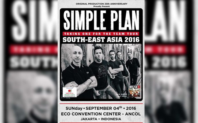 Perhatian! Simple Plan Pindah Lokasi Konser ke Ancol