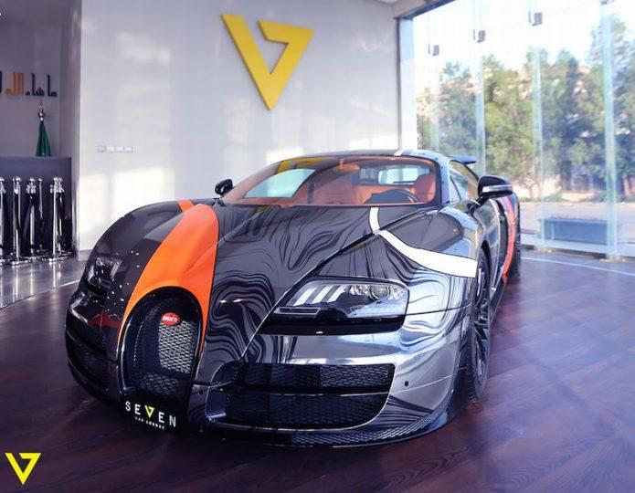 Satu dari 45 Bugatti Veyron Super Sport Bekas Dijual di Arab Saudi