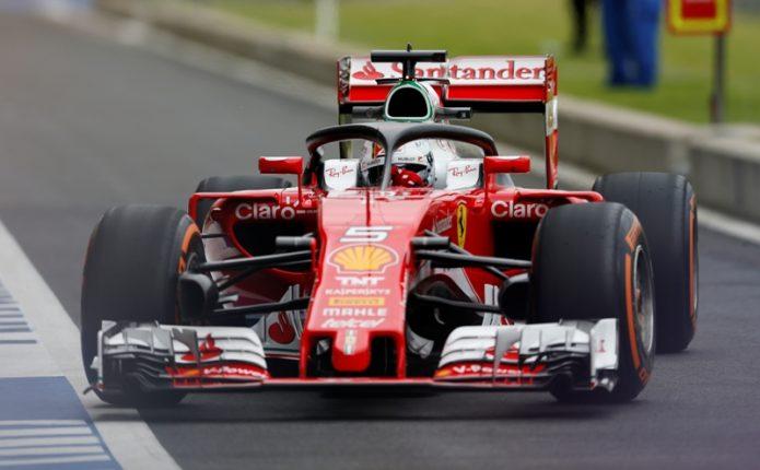 Sebastian Vettel Keluhkan Mobilnya yang Sangat Lambat