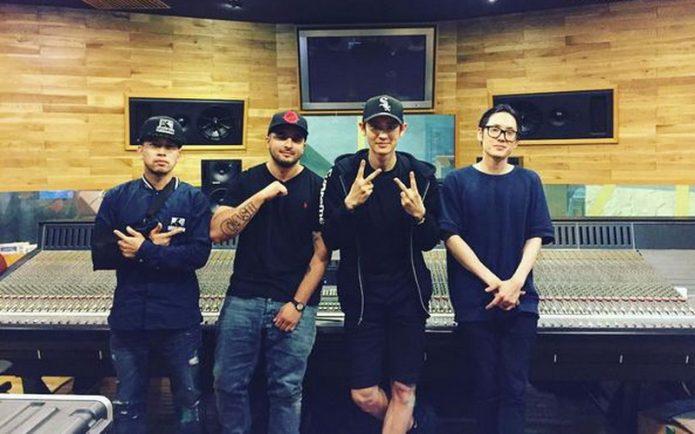 Chanyeol 'EXO' Digaet Far East Movement untuk Album Baru
