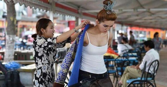 Zhang XiaoJiao, Wanita dengan Payudara Terindah se-China
