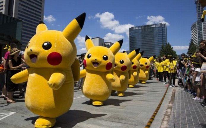 Ribuan Pokemon Turun ke Jalan