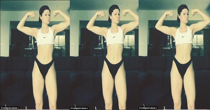 Wah, Jessie J Berani Pamer Selulit di Akun Instagram