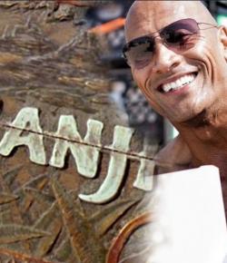 Dwayne 'The Rock' Johnson Kenalkan Bintang Utama Jumanji