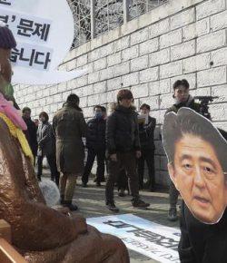 Protes Patung Budak Seks, Jepang Tarik Dubes dari Korsel