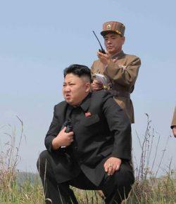 Kim Jong-un Pimpin Langsung Peluncuran Rudal Korut