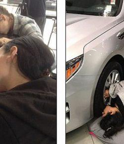 20 Orang Rela Cium Mobil Selama 2 Hari 2 Malam Demi Hadiah Mobil