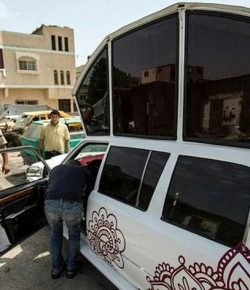 'Limusin' Mercedes Benz untuk Pernikahan Warga Gaza