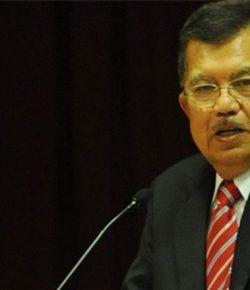 Wapres JK Dapat Gelar Kehormatan dari Dewan Adat Dayat