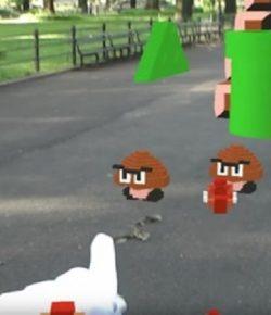 Uniknya Game 'Super Mario Bros' dalam Balutan AR