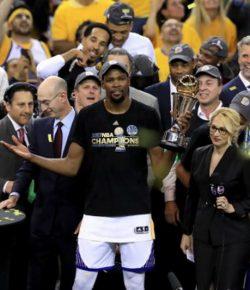 Bawa Warriors Juara NBA 2016-2017, Kevin Durant Terpilih Jadi MVP Musim Ini
