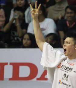 Pertimbangkan Beberapa Hal, Ferdinand Damanik Dicoret dari Timnas Basket Putra SEA Games 2017
