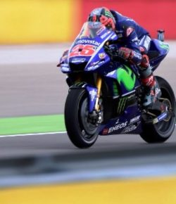 Motor Yamaha Kembali Tak Kompetitif di Lintasan Basah, Ini Komentar Vinales