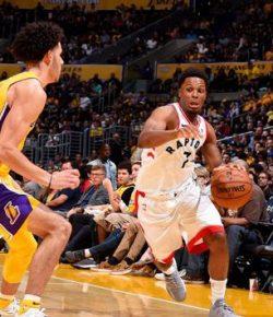 NBA: Raptors Bungkam Lakers di Staples Center