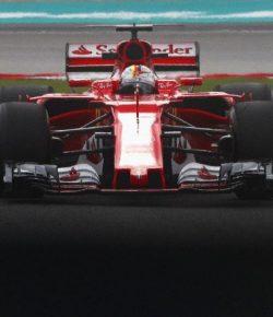Ferrari dan Vettel Akan Berjuang Sampai Seri Terakhir