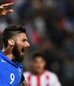 Lepaskan Tendangan Superkeras, Giroud Bawa Arsenal Unggul 1-0 atas Crvena Zvezda