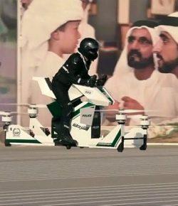 Berpatroli, Polisi Dubai Akan Pakai Motor Terbang