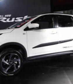 Spesifikasi All New Rush Vs Honda BR-V