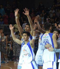 Tampil Dominan, Satria Muda Tundukkan Siliwangi Bandung di Perbasi Cup 2017