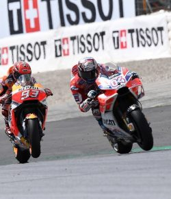 Tarkait Perebutan Gelar Juara MotoGP 2017, Dovizioso: Kita Harus Rileks