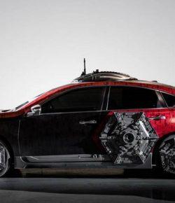 Keren! Mobil Nissan Star Wars Nongol di Los Angeles Auto Show