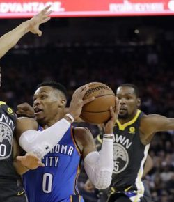 Thunder Kembali Sengat Warriors