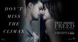 Klimaks Trilogy 'Fifty Shades Freed' Sukses Puncaki Box Office Amerika