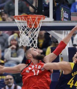 Kalahkan Pacers, Raptors Menang Sepuluh Kali Beruntun