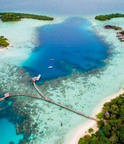 Keindahan Pulau Bawah di Riau Mampu Kalahkan Indahnya Maladewa