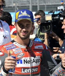 Berita Bintang – MotoGP 2019: Dovizioso Tak Mau Remehkan Kecepatan Honda