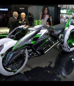 Berita Bintang – Diam-Diam, Kawasaki Menyiapkan Motor Listrik