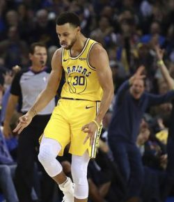 Berita Bintang – NBA: Kalahkan Thunder, Warriors Pastikan Diri ke Play Off