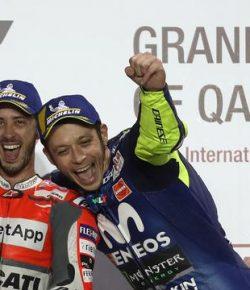 Berita Bintang – Rossi Impresif, Dovizioso Sebut Persaingan di MotoGP Makin Sulit