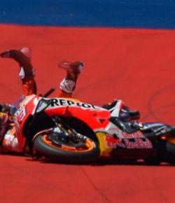 Berita Bintang – Dovizioso Masih Tak Percaya Marquez Jatuh di MotoGP Austin