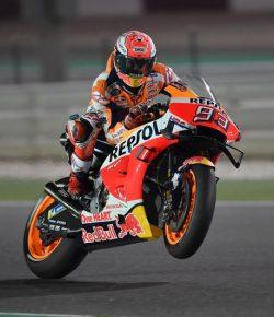 Berita Bintang –  Meski Hujan, Marquez Siap Lakoni MotoGP Prancis 2019