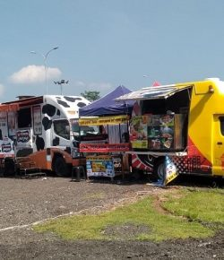 Berita Bintang –  Manjakan Pemudik, Rest Area Ini Sediakan Food Truck Festival