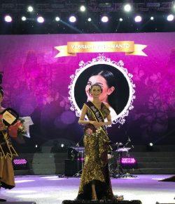 Berita Bintang – Febriyanti Hartanto Menangkan Kontes Miss Jakarta Fair 2019