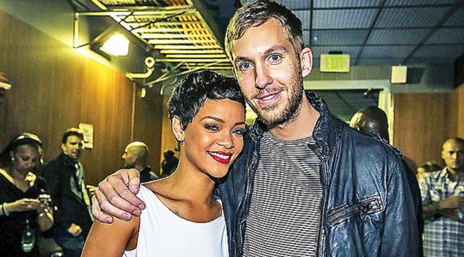Calvin Harris Akui Terpikat Pesona Rihanna